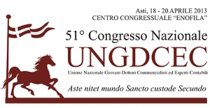 """51° CONGRESSO NAZIONALE UNGDCEC - """"Fisco e competitività"""""""